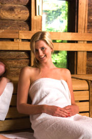 spa sauna wellness laponie
